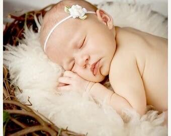 10% SALE Baby headband, newborn headband, adult headband, child headband and photography prop SALE The single sprinkled- Rose headband