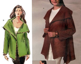 Vogue V2949 Today's Fit by Sandra Betzina Sewing Pattern for Misses' Jacket - Uncut - All Sizes