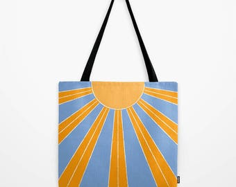 Sun tote bag beach tote bag summer bag
