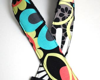DSLR Camera Strap - Gifts for Photographer Gift - Padded Camera Strap - Neck Strap - Camera Accessories - Nikon - Mod Medley - READY to SHIP