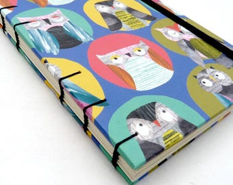 A6, MeDiary, Diary, weekly, planner, planners, 2017, 2018, journal, notebook, Coptic, forest, jungle, animals, Paperchase, elastic