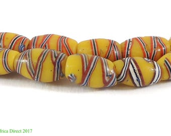 French Cross Venetian Trade Beads African Variant 117541
