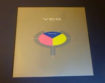 YES 90125 Vinyl Record LP 90125 ATCO Records 1983