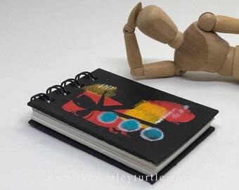 Mini Motley Art Journal #12; ATC size
