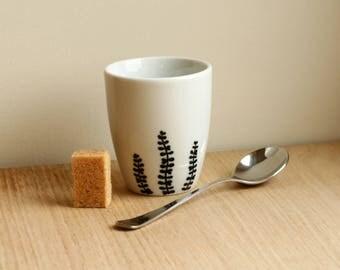 Succulent planter - Crassula espresso cup