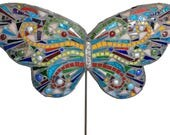 Large Butterfly Garden Stake