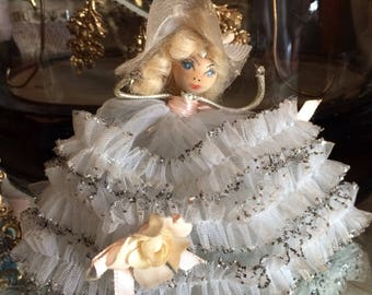 She Reminds Me Of Dolly Parton Back In The Day Vintage Handmade Southern Bell Doll