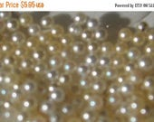 SPECIAL Vintage Seed Pearls Cream No hole 2mm QTY - 10