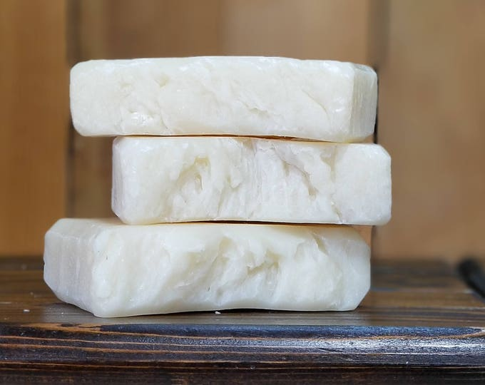 The Nudie Bar (unscented hand and body bar), Vegan, Unscented, All Natural Soap, Free Shipping