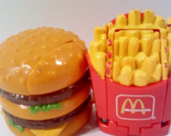 McDonalds Robot TransformerToys, set of 3