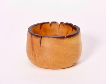 """White pine bowl - 6"""" x 6"""""""