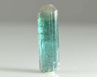 Indicolite Blue Tourmaline Natural Crystal With Termination