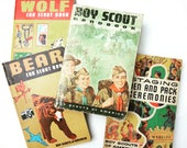 Reserved Listing for 2 vintage Boy Scout Handbook and the Ceremonies book