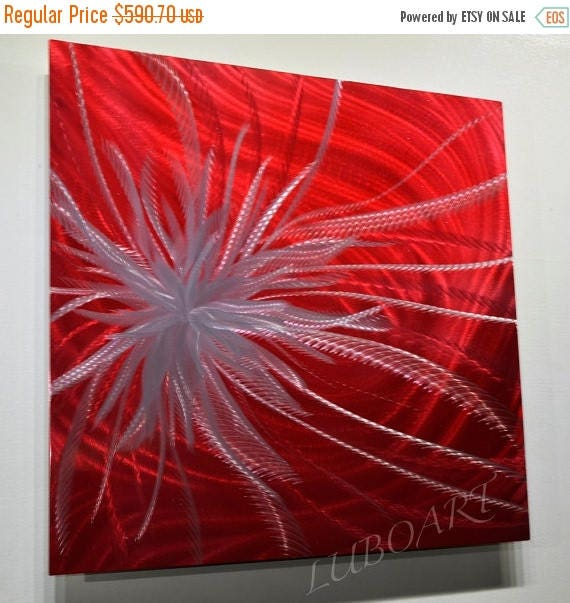 Alien Bees Black Friday Sale: Black Friday Month SALE 24 Abstract Modern Red Alien