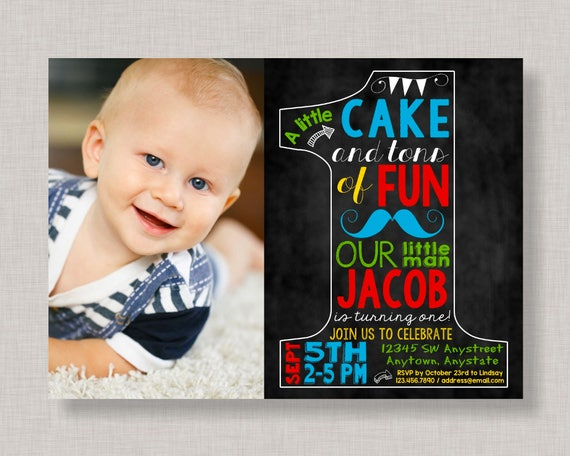 First birthday invitationslittle man 1st birthday inviteslittle il570xn filmwisefo