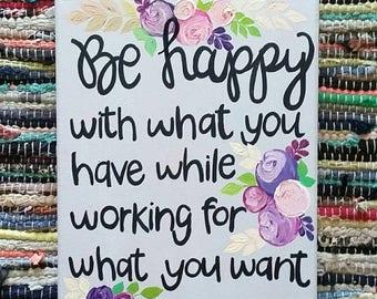 ON SALE Be Happy
