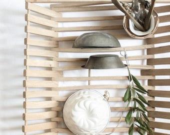 Vintage Wooden Dish Drainer