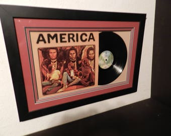 America lp framed