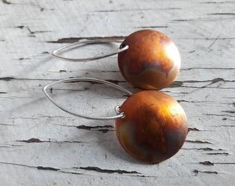15% off  Handmade Botanical Earrings