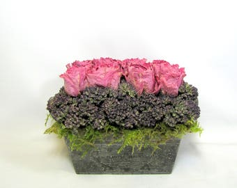 French Country Dried Flower Arrangement
