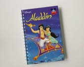 Aladdin Notebook - Handmade Disney Notebook