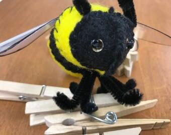giant felt bee