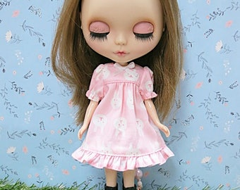 Neo Blythe Dress No.406 (Random print's on fabric)