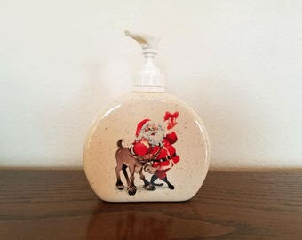 Ceramic Lotion/Soap Dispenser