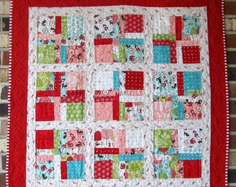 """Baby's First Quilt """"Little Red Riding Hood"""""""