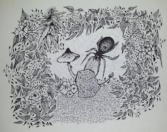dibujo de mi corazón series 005