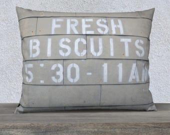Farmhouse Decor Pillow Cover | Pillows with Sayings | Farmhouse Pillow Gray Beige White | Pillow Covers 18x18 + 22x22 | Pillows with Words