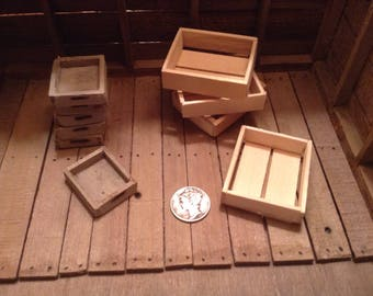 Special order for Jeneen Miniatire Crates