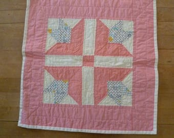Pink Carolina Lily Quilt