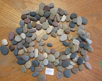 Flat beach rocks etsy for Flat stones for crafts
