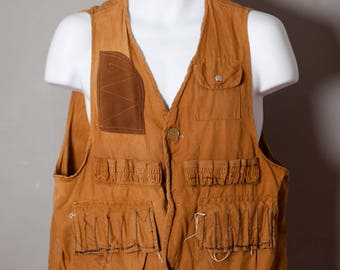 Vintage Hunting Shooting Vest - STORM-PRUF - L