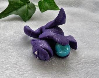 Playful Purple Dragon  P-081