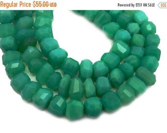 10% off Memorial Day Freeform Chrysoprase Nugget Beads -- 12mm Beads -- ONE FULL STRAND (S102B11-05)
