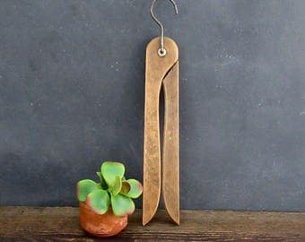 Vintage Folding Hanger, Collapsable Wooden Hanger, FREE SHIPPING