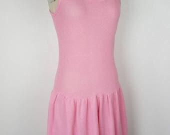 Bubblegum Pink Net Cover Up - Medium - Tennis Dress