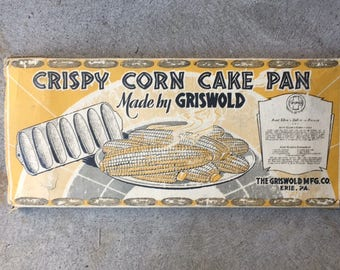 Griswold Crisy Corn Cake Pan in ORIGINAL BOX  273  930A