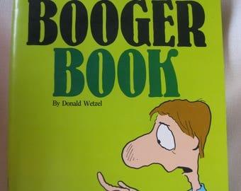 Vintage BOOGER Book