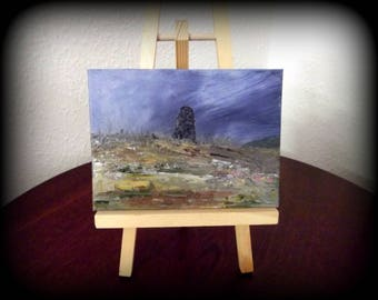The Sentinel - Oils on Canvas Painting