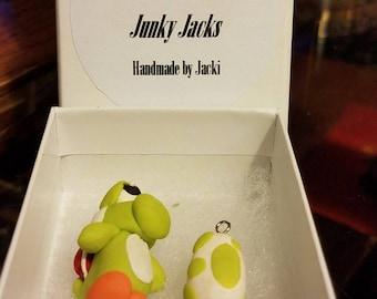 Handmade Yoshi Pendants
