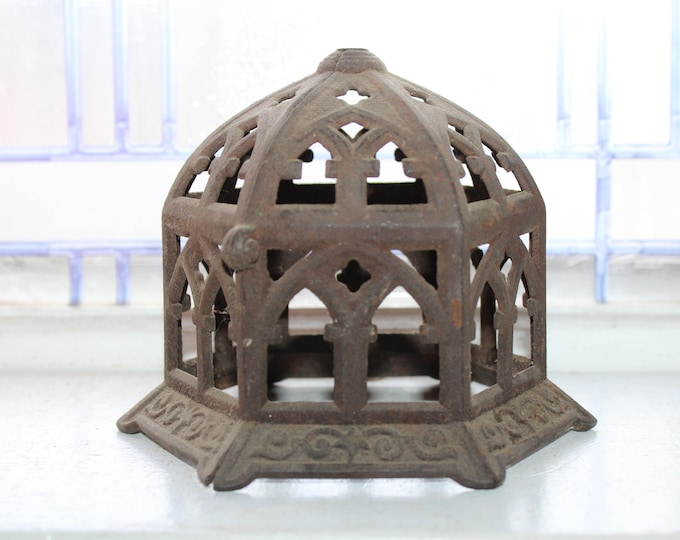 Cast Iron String Holder Antique 1800s Farmhouse Decor