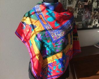 Leonard Paris silk foulard 90x90