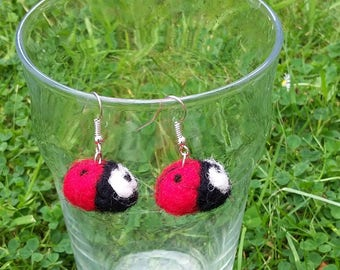Baby Ladybird Earrings