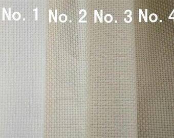 9ct cross stitch cotton aida fabric,cross stitch canvas,4 colors for choice,