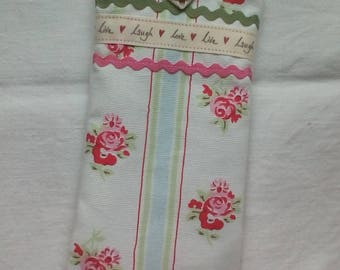 Cath kidston fabric handmade glasses pouch sunglasses pouch