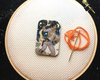 Upcycled Comic Book Magnetic Needle Minder - Star Wars