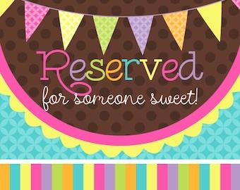 Reserved For Callie Wiesen